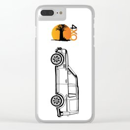 4xOverland Discovery Clear iPhone Case