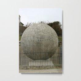 Durlston Globe Metal Print