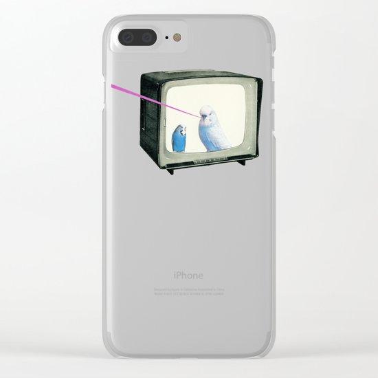 Talk Show Clear iPhone Case