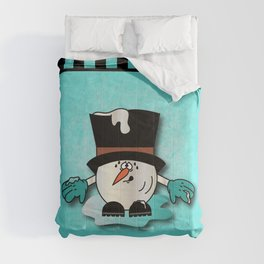 Snowball Guy One Comforters