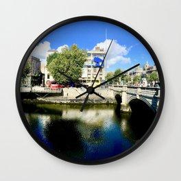 River Liffey, Dublin Pamorimic Wall Clock