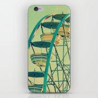 ferris wheel iPhone & iPod Skins featuring Ferris Wheel  by RDelean