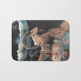 Capricorn- The Zodiac Wildlife Series Bath Mat