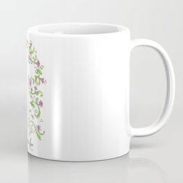 No Greater Love Floral Cross Coffee Mug