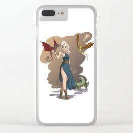 Daeneryssparky Clear iPhone Case