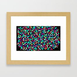 This one can hold chocolate milk for the kiddies. Framed Art Print
