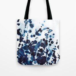 Large waves and sea spray. Tote Bag