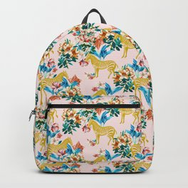 Floral & Zebras Backpack