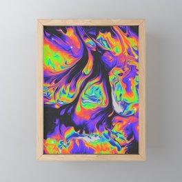 SOLEIL D'HIVER Framed Mini Art Print