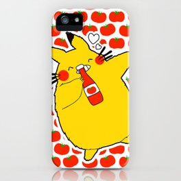 my neighbor loves ketchup iPhone Case