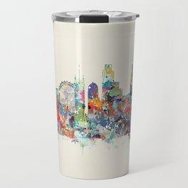 london city skyline Travel Mug