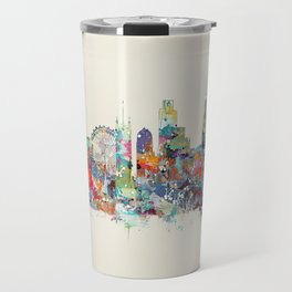 london city skyline Travel Mug