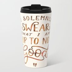 I Solemnly Swear Metal Travel Mug