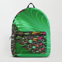 Carnival Green Backpack