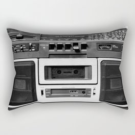 cassette recorder / audio player - 80s radio Rectangular Pillow
