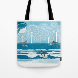 Harmony with the Sea Tote Bag