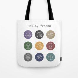 Hello, friend - Mr. Robot Tote Bag