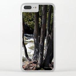 Oqueoc Falls 6 Clear iPhone Case