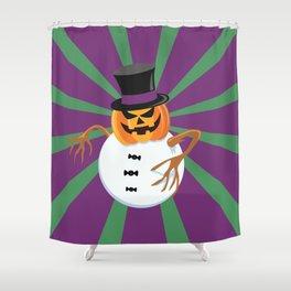A scary little Xmas ! Shower Curtain