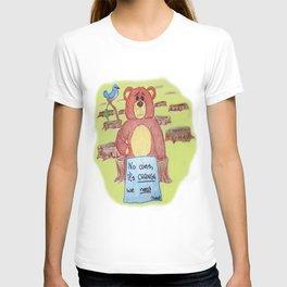 Sad bear & friend T-shirt