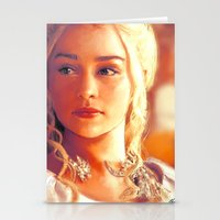 mother of dragons Stationery Cards featuring Mother of Dragons by markclarkii