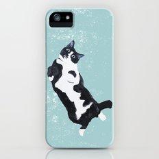 tuxedo cat Slim Case iPhone (5, 5s)