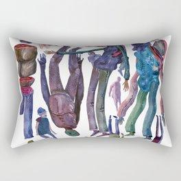 Caracters Rectangular Pillow