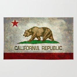 California flag - Retro Style Rug