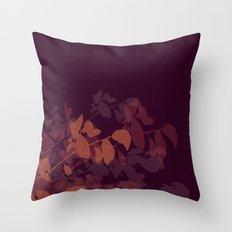 Plumberry Mood Throw Pillow