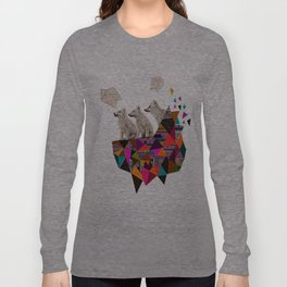 The Night Playground by Peter Striffolino and Kris Tate Long Sleeve T-shirt