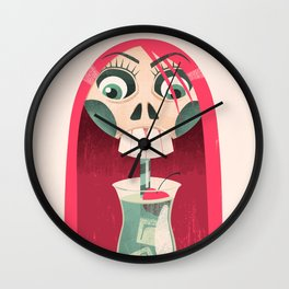 The Deadliest Sip Wall Clock