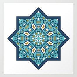 Islamic Pattern  Art Print