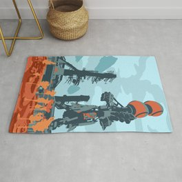 The Steppes - Cosmodrome Rug