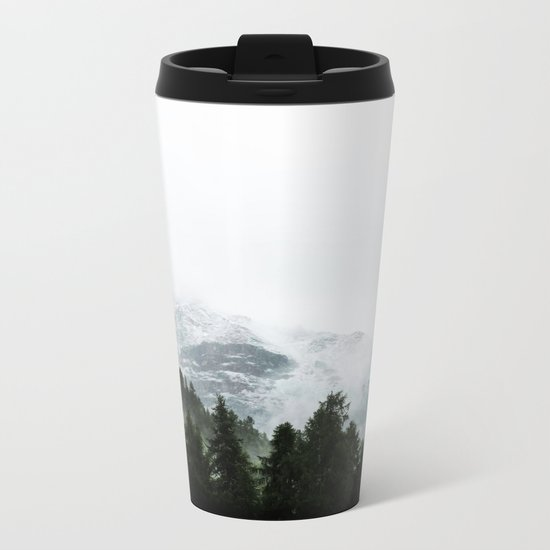 The Way Through The Woods Metal Travel Mug