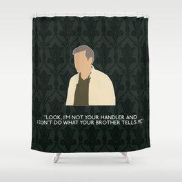 The Hounds of Baskerville - Greg Lestrade Shower Curtain