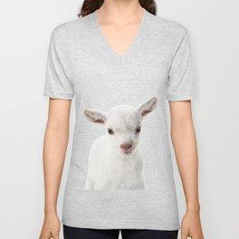 Baby Goat Unisex V-Neck