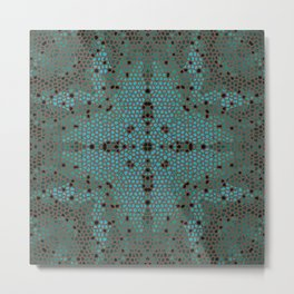 Mosaic 2c Metal Print
