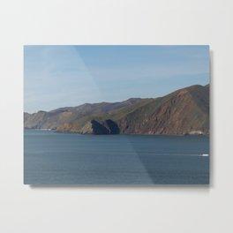 Golden Gate Hills - San Francisco, CA Metal Print