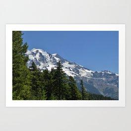 A Great Mountain Art Print