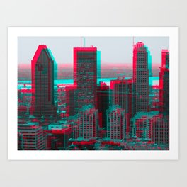 Surreal Montreal 7 Art Print
