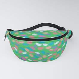 Spring Greens Fanny Pack