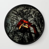 lantern Wall Clocks featuring Lantern by A Dostert