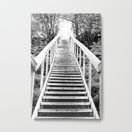 Only Way is Up #decor #society6 Metal Print