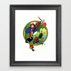 Mario landS Framed Art Print