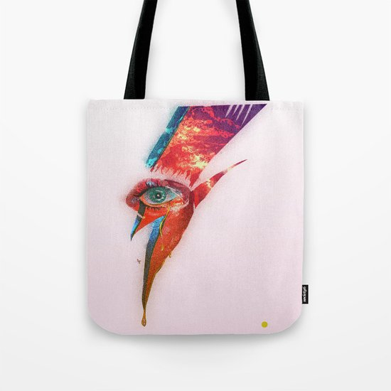 Glam Tear Tote Bag