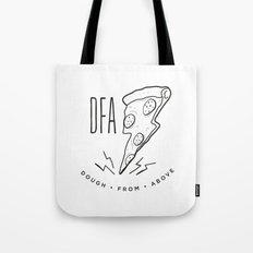 DFA White Tote Bag