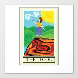 THE FOOL Canvas Print