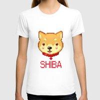 shiba inu T-shirts featuring SHIBA INU LOVE by giaj