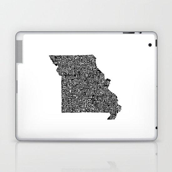 Typographic Missouri Laptop & iPad Skin