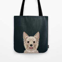 Tanner - Yorkshire Terrier gifts and gifts for dog person and dog people gift ideas Tote Bag